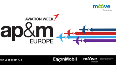 Moove Aviation exhibiting at ap&m london 2018